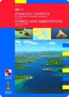 400001 HR Zeichen, Abkürzungen, Begriffe in kroatischen Seekarte