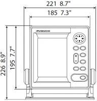 8101620 FURUNO M 1623 LCD Radar 38 cm Radom 2,2 kW